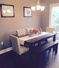 dining room ideas pinterest. dining room avondale macyu0027s table u0026 bench with fabric chairs from target ideas pinterest