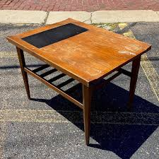 dania ii side table by merton gershun