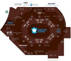 Concourse Map Barclays Center