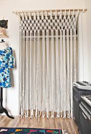 after you create your boho macrame plant holder for beginners you ll be ready to tackle something more advanced waking your own diy gypsie macrame door is