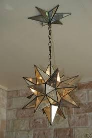 star pendant lighting. Moravian Star Mirror And Metal Canopy Pendant Lighting D