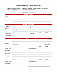employee contact info employee contact information form 38 equipped include kalmi info