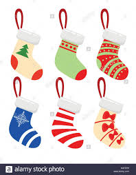 Pictures Of Merry Christmas Design Merry Christmas Modern Vector Illustration Of Christmas Socks With