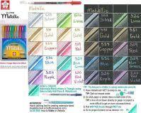 Gelly Roll Metallic Color Chart Metallic Shadow Gold