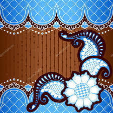 blue background designs brown blue background inspired by indian mehndi designs stock