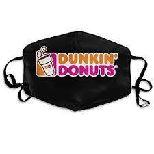 Dunkin Donuts Allergen Chart Amazon Com Dunkin Donuts Logo Anti Dust Cotton Mask