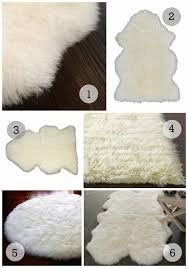 flokati rug ikea nursery trend watch sheepskin rugs 1 ecowool sheepskin rug 96