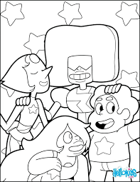 Luxury Steven Universe Coloring Pages And Medium Size Of Crystal