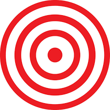 2 toilet potty training bullseye target