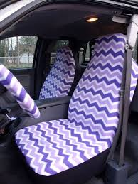 oxgord car seat cover new 1 set purple and white chevron seat covers and the steering