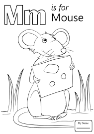 M Coloring Page Sensational Capital Monkey Pagesable Letter For