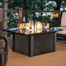 Outdoor GreatRoom DIY Hudson Stone Gas Fire Pit Kit WRound Burner Outdoor Great Room