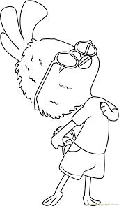 Small Picture Chicken Little Coloring Page Free Chicken Little Coloring Pages