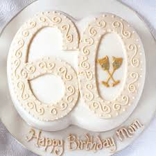 Number Birthday Cake60th80th50th Birthdayedinburghglasgow