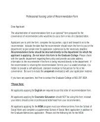 Download Recommendation Letter Format Of Rec Example Thank