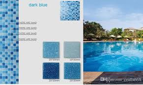 glass mosaic tile for swimming pool tile blue color wall tile popular design wall mosaic flooring tiles tiles flooring building supplies australia 2019 from