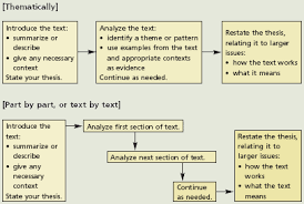 the norton field guide to writing ways of organizing a textual analysis
