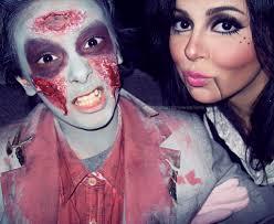 sandramariewashere zombie ventriloquist dummy makeup by sandramariewashere