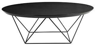 black coffee table. Como Coffee Table 1000mm Black