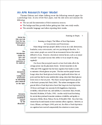 research paper sample discuss process developing research sample paper 41 examples in word pdf