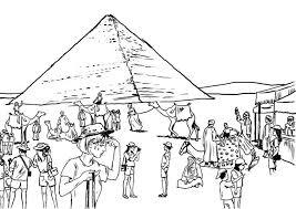 Kleurplaat Toerisme Egypte Afb 8056 Images