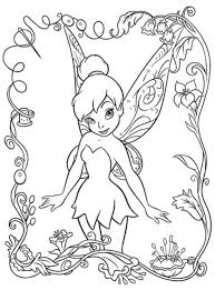 Small Picture Beautifull Tinkerbell Coloring Pages Cartoon Coloring Pages