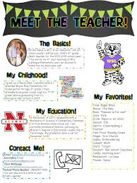 Teachers Newsletter Templates Meet The Teacher Newsletter Editable Librarian Ideas