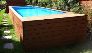 container pool box sb1 - The Pool Box: steel container reborn as a stylish  pool