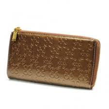Coach Accordion Zip Large Gold Wallets 015