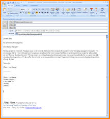 Best Email For Resume Resume Templates Email Format Sample To Hr