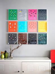 diy wall frame decor gpfarmasi new home with colorful decoration property frames empty ture stylish ideas