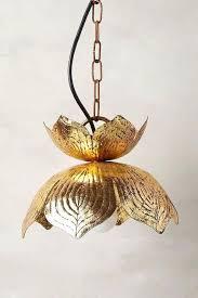 brass lotus pendant lamp nurseries pendant lamps lotus pendant light lotus leaf pendant light
