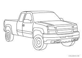 So we have solved this problems of yours by providing you the so download these 40 free printable truck coloring pages. Free Printable Truck Coloring Pages For Kids