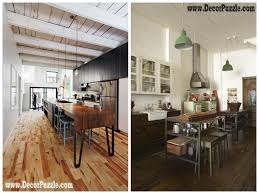 Industrial Kitchen Furniture Industrial Chic Finishes Furniture Smallhouseideacom