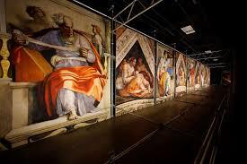 michelangelo s sistine chapel is coming to houston sort of