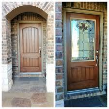 breathtaking front door glass insert front door makeover zabitat installed a half light jacinto door