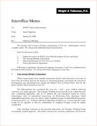 007 Internal Memo Template Legal Memorandum Sample Info