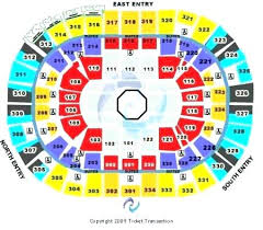 Moda Center Seating Chart Moda Center Map Center Seating Map Center At The Rose