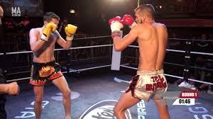 XPOSURE FIGHT SERIES 4 - Tom Fields vs Aaron Dengham - YouTube
