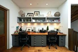 dual office desk. Double Desk Home Office Breathtaking Dual . N