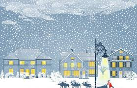 Snow Animated Christmas Gifs Of Christmas Eve In The Snow Gifspro