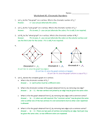 I am taking this class to learn and for fun, not at all because i am a computer science major or minor, or a math major or minor. Chromatic Numbers Ws