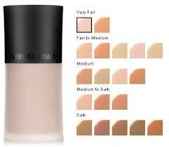 Armani Luminous Silk Foundation Color Chart Best Picture