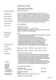 Assistant controller resume, sample, example, accounting, finance, job  description, work