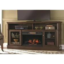 a console infrared bow front electric fireplace in 78 fake fireplace tv stand costco trendy a