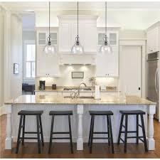 ceiling lights above kitchen island