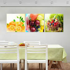 fallout fruit kitchen decorative pictures oil triptych painting no with regard to wall paintings with frames plan