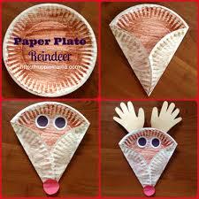 Christmas Kids Crafts Christmas Kids Craft Paper Plate Reindeer Christmas Winter