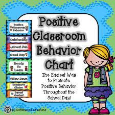 Behavior Chart Classroom Behavior Chart Behaviour Chart