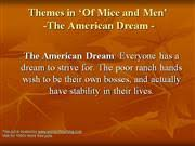of mice  amp  men revision  authorstreamdreams in of mice and men